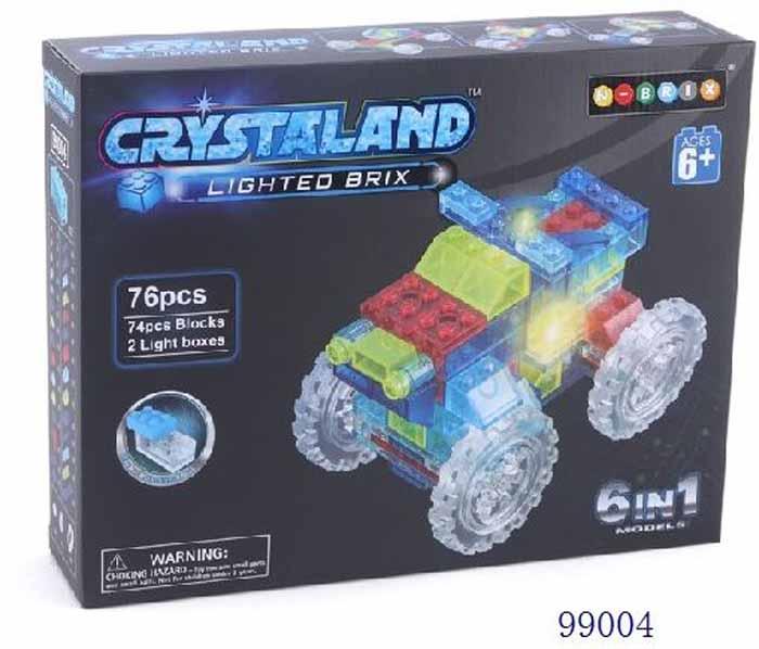 Crystaland Конструктор Кроссовер 6 в 1 crystaland конструктор истребитель 6 в 1