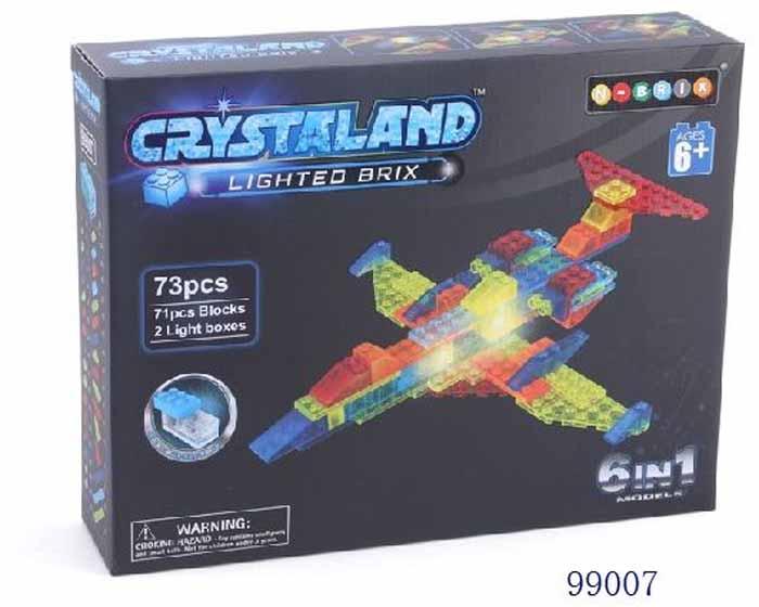 Crystaland Конструктор Истребитель 6 в 1 crystaland конструктор истребитель 6 в 1