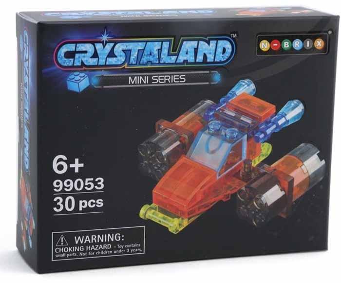 Crystaland Конструктор Реактивный самолет самолет без нее