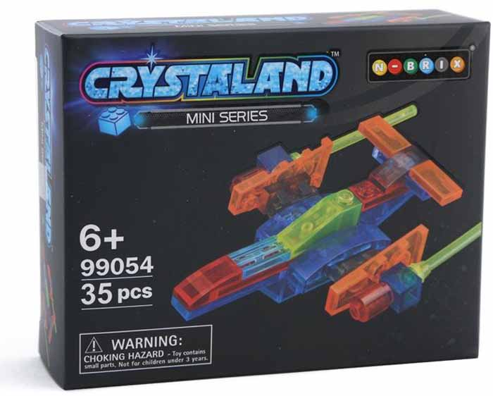 Crystaland Конструктор Звездный десант конструктор crystaland shg006 истребитель 4 в 1 67 дет