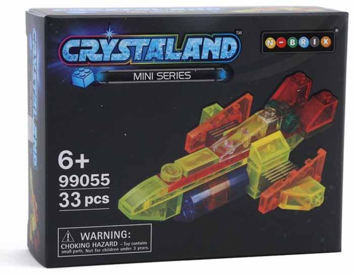 Crystaland Конструктор Шаттл конструктор crystaland shg006 истребитель 4 в 1 67 дет