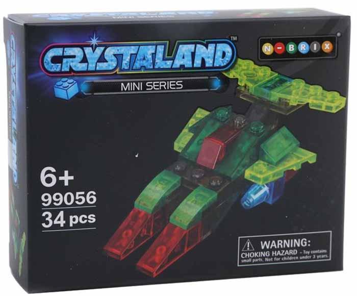Crystaland Конструктор Звездолет конструктор crystaland shg006 истребитель 4 в 1 67 дет