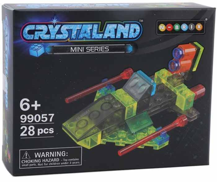Crystaland Конструктор Истребитель