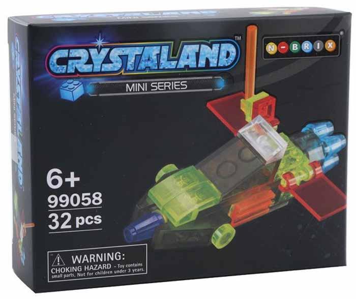 Crystaland Конструктор Гоночный болид конструктор crystaland shg006 истребитель 4 в 1 67 дет