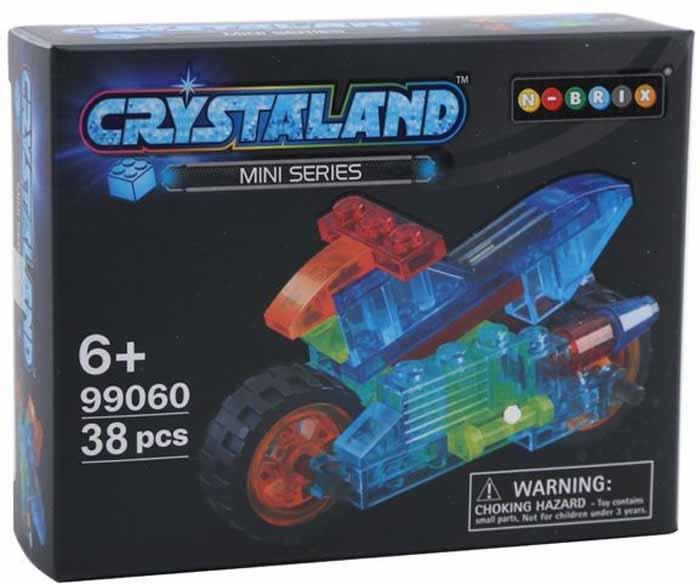 Crystaland Конструктор Мотобайк конструктор crystaland shg006 истребитель 4 в 1 67 дет