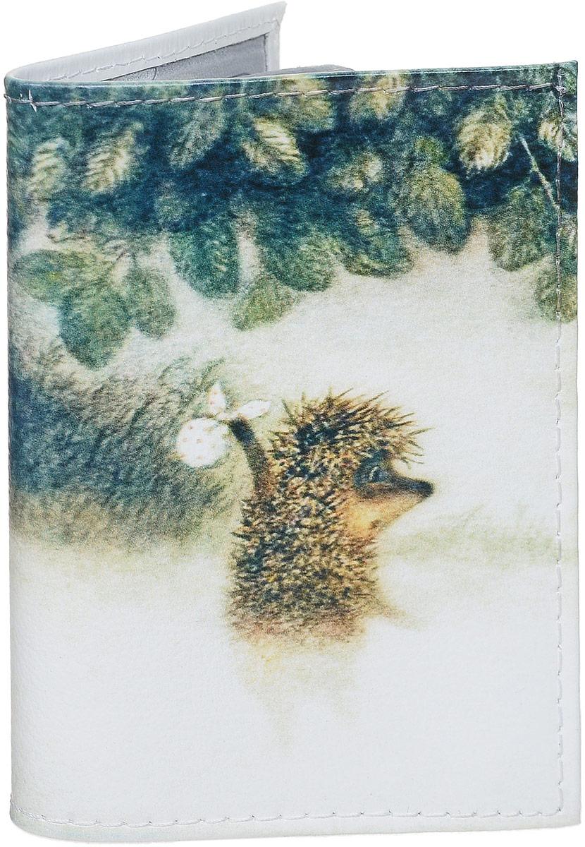 Визитница Mitya Veselkov Ежик в тумане, цвет: белый, зеленый. VIZIT-008 смартфон xiaomi redmi 5 plus 32gb blue