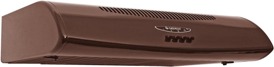 Gefest ВО 2601 К47, Brown вытяжка32452Воздухоочиститель, угольные кассетные фильтры, металлические сетчатые фильтры, кнопочное управление, циркуляционный и вытяжной режим, три режима работы вентилятора. Цвет коричневый.