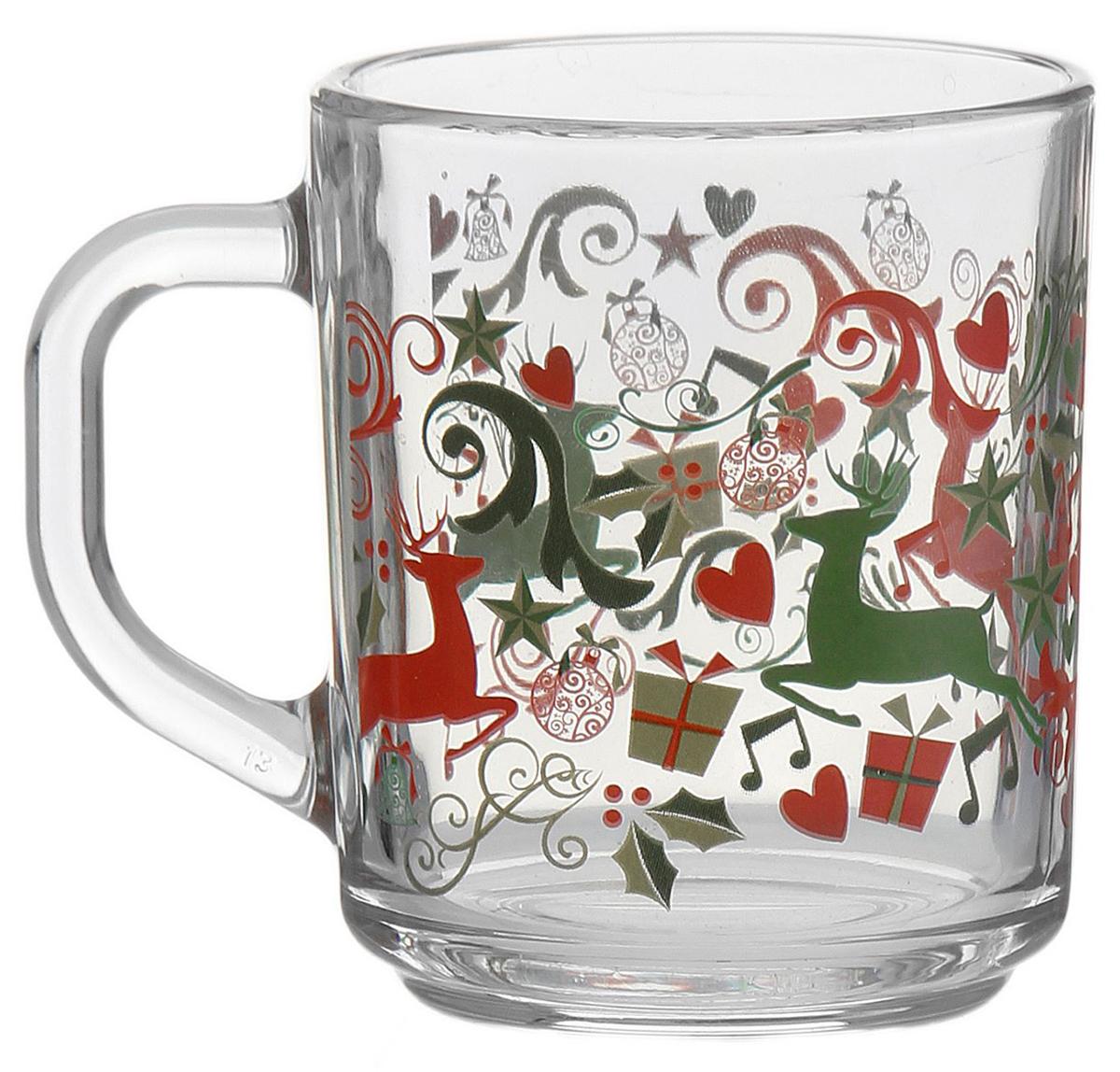 Кружка ОСЗ Green Tea. Олени и подарки, 200 мл1794829От качества посуды зависит не только вкус еды, но и здоровье человека. — товар, соответствующий российским стандартам качества. Любой хозяйке будет приятно держать его в руках. С нашей посудой и кухонной утварью приготовление еды и сервировка стола превратятся в настоящий праздник.