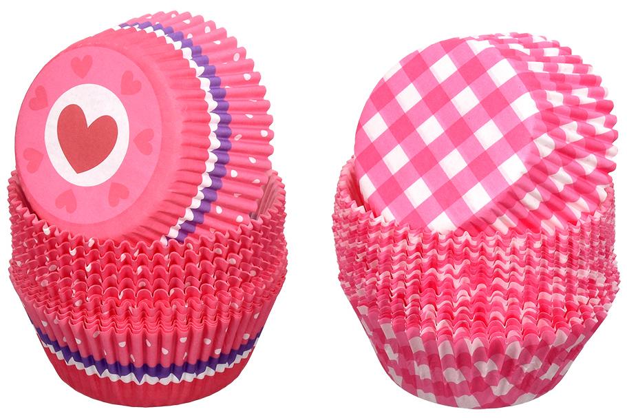Набор форм для выпечки кексов Marmiton Классика, цвет: синий, розовый, белый, 50 шт11346_розовый, синийФормы для выпечки кексов Marmiton Классика изготовлены из пищевого термостойкого пергамента и предназначены для выпечки и упаковки кондитерских изделий. В наборе - 50 штук. Формы не требуют предварительной смазки маслом, жиром. Для одноразового применения. Изделия декорированы узорами в классическом стиле. Пригодны для использования в микроволновых, газовых и электрических печах. Диаметр по нижнему краю: 50 мм.Диаметр по верхнему краю: 70 мм.Высота формы: 30 мм.Уважаемые клиенты! Обращаем ваше внимание на то, что упаковка может иметь несколько видов дизайна. Поставка осуществляется в зависимости от наличия на складе.
