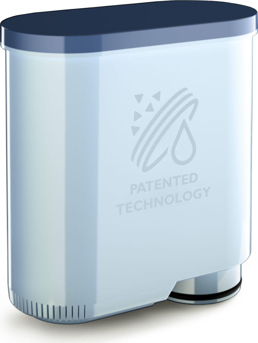 Philips CA6903/10 Saeco AquaClean фильтр для воды и против накипиCA6903/10До 5000 чашек без очистки от накипи!* Одного фильтра хватает на 625 чашек! Благодаря инновационному фильтру для воды AquaClean вы сможете насладиться великолепным вкусом кофе. AquaClean фильтрует воду, обеспечивая насыщенный аромат кофе, и препятствует образованию известкового налета, поэтому вам не придется проводить очистку кофемашины от накипи. (* 8 сменных фильтров).
