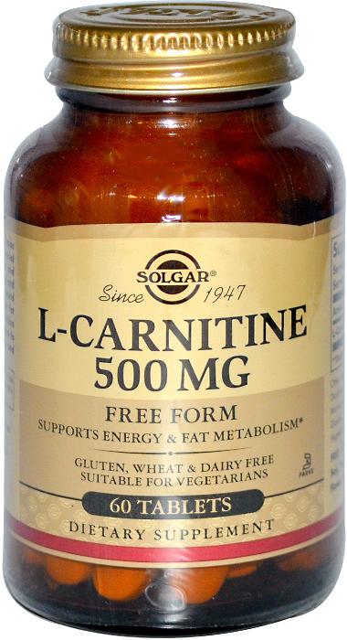 Солгар L-карнитин таблетки 500 мг №30203823Прием L-Карнитина позволяет повысить работоспособность, физическую выносливость, ускорить процесс восстановления после тренировок, способствует снижению избыточного веса при физических нагрузках. L-Карнитин 500 мг содержит карнитин в свободной L-форме для максимального усвоения. Сфера применения: ВитаминологияМакро- и микроэлементы