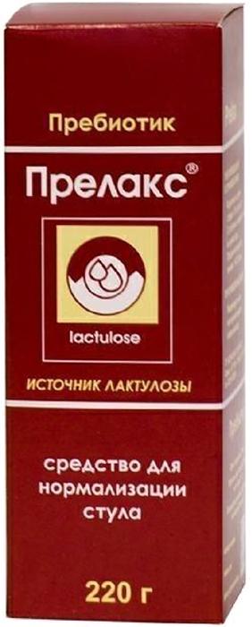 Прелакс сироп 220г24174БАД Прелакс рекомендована в качестве биологически активной добавки к пище - источника лактулозы. Сфера применения: ГастроэнтерологияЛечение запоров