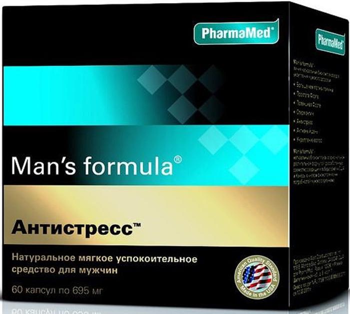 Мен-С Формула АНТИСТРЕСС капсулы по 695 мг №6028892Man's formula Антистресс устранит симптомы стресса, вернет спокойствие и уверенность, улучшит сон и усилит умственную активность, не оказывая седативного влияния на нервную систему. Сфера применения: ВитаминологияМакро- и микроэлементы