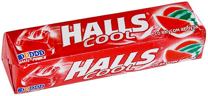 Леденцы Halls от кашля Арбуз, 12 упаковок
