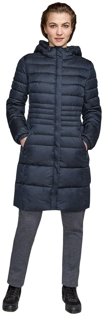 Куртка женская Grishko, цвет: синий. AL-3297. Размер 50AL-3297Стильная куртка от Grishko приталенного кроя с прорезными карманами на молнии. Теплый капюшон, рукава на фиксируемом манжете и комфортная длина сделают эту куртку незаменимой вещью в холодную осеннюю и зимнюю погоду. Утеплитель 100% микрофайбер – утеплитель нового поколения, который отличается повышенной теплоизоляцией, антибактериальными свойствами, долговечностью в использовании, и необычайно легок в носке и уходе. Изделия легко стираются в машинке, не теряя первоначального внешнего вида. Комфортная температура носки до -15°С.
