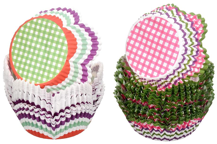 Набор форм для выпечки кексов Marmiton Фигурные, цвет: розовый, коричневый, 50 шт17053_розовый, коричневыйФормы для выпечки кексов Marmiton Фигурные изготовлены из пищевого термостойкого пергамента и предназначены для выпечки и упаковки кондитерских изделий. В наборе - 50 штук. Формы не требуют предварительной смазки маслом, жиром. Для одноразового применения. Изделия декорированы изображениями разных фигур. Пригодны для использования в микроволновых, газовых и электрических печах. Диаметр по нижнему краю: 5 см.Диаметр по верхнему краю: 7 см.Высота формы: 3 см.Уважаемые клиенты! Обращаем ваше внимание на то, что упаковка может иметь несколько видов дизайна. Поставка осуществляется в зависимости от наличия на складе.