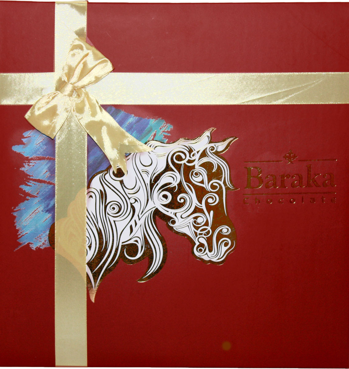 Baraka Рахш ассорти шоколадных конфет, 180 г масло амлы для волос baraka