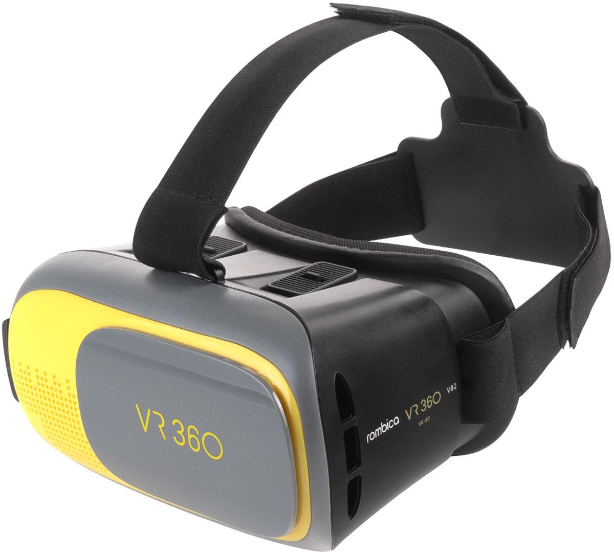 Rombica VR2 очки виртуальной реальности очки виртуальной реальности fibrum pro