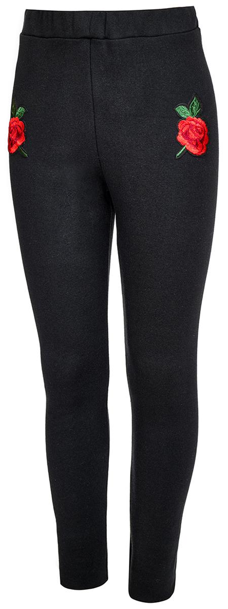 Леггинсы для девочки M&D, цвет: черный. WJL27039S21. Размер 152 сорочка avanua safire черный s m