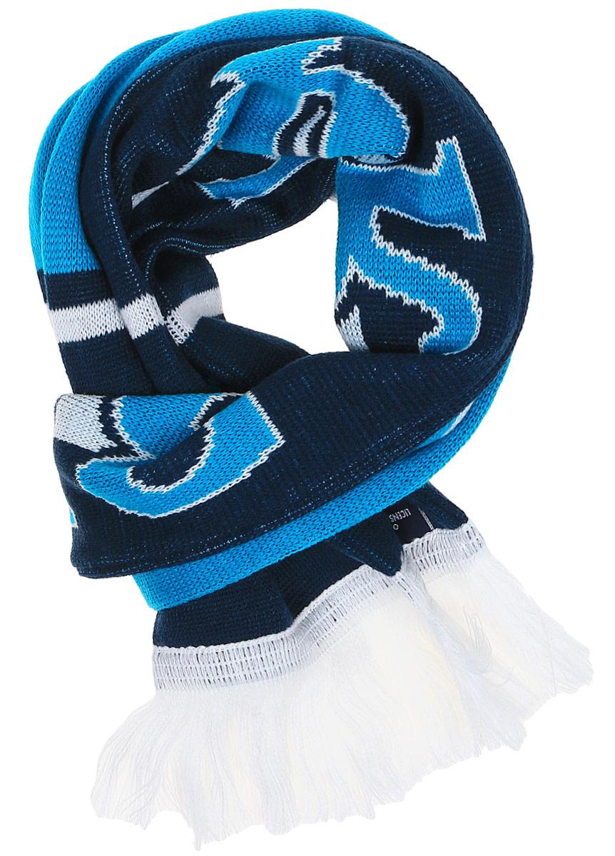 Шарф Atributika & Club ФК Зенит, цвет: синий, голубой. 06305. Размер универсальный