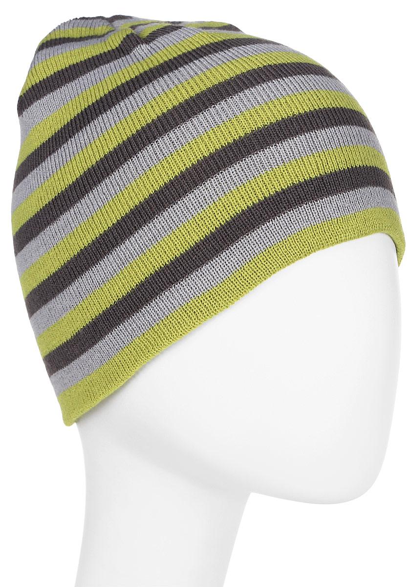 Шапка мужская Trespass Coaker, цвет: салатовый, серый. MAHSHAM20001. Размер универсальныйMAHSHAM20001