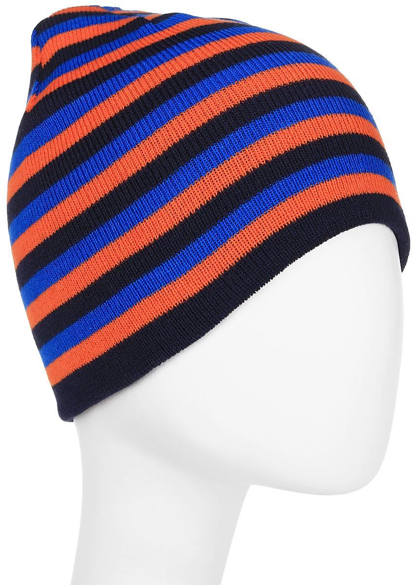 Шапка мужская Trespass Coaker, цвет: синий, красный. MAHSHAM20001. Размер универсальныйMAHSHAM20001