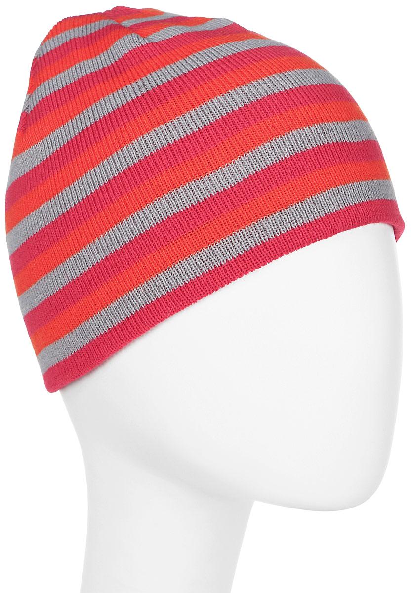 Шапка женская Trespass Kezia, цвет: розовый, серый. FAHSHAM20006. Размер универсальныйFAHSHAM20006