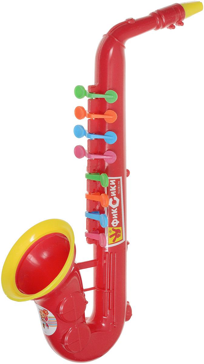 Играем вместе Саксофон Фиксики цвет красный