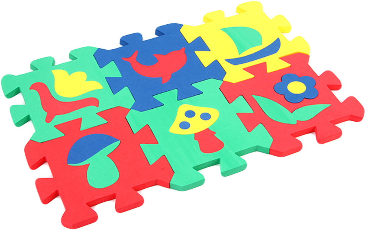 Бомик Пазл для малышей Коврик Мозаика бомик пазл для малышей цифры цвет основы синий
