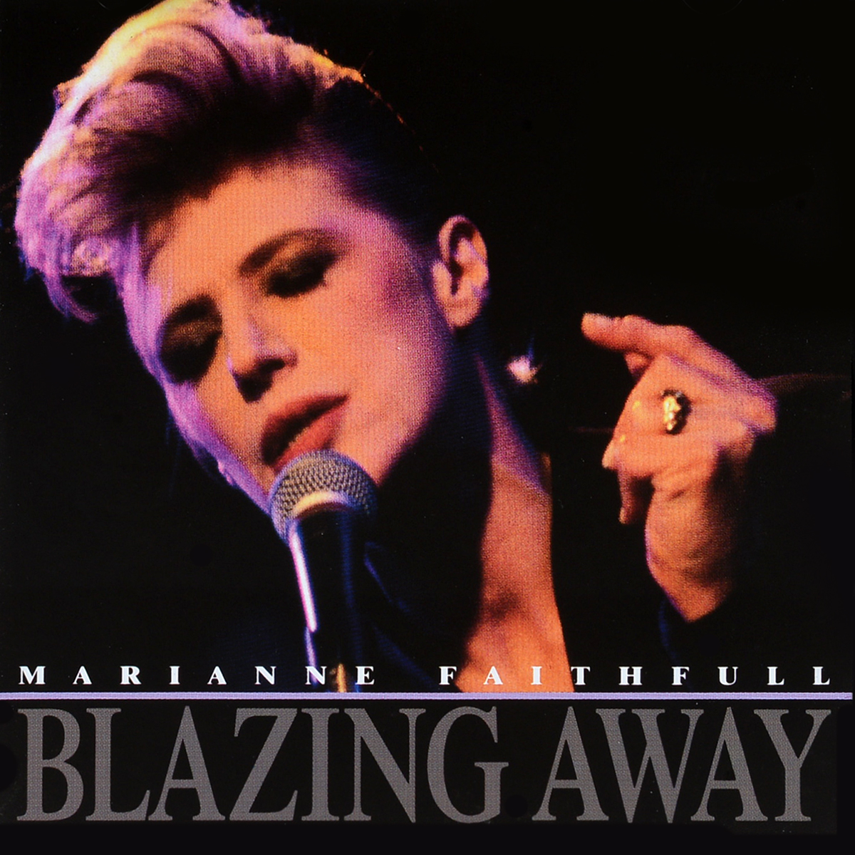Мэриэнн Фэйтфулл Marianne Faithfull. Blazing Away marianne faithfull marianne faithfull broken english
