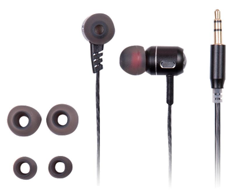 Ritmix RH-140, Black наушники15119359Ritmix RH-140 – это портативные наушники-вкладыши в алюминиевом корпусе, предназначенные для использования с телефонами, планшетами и MP3- плеерами. Выпускаются в двух цветах: чёрном и сером.