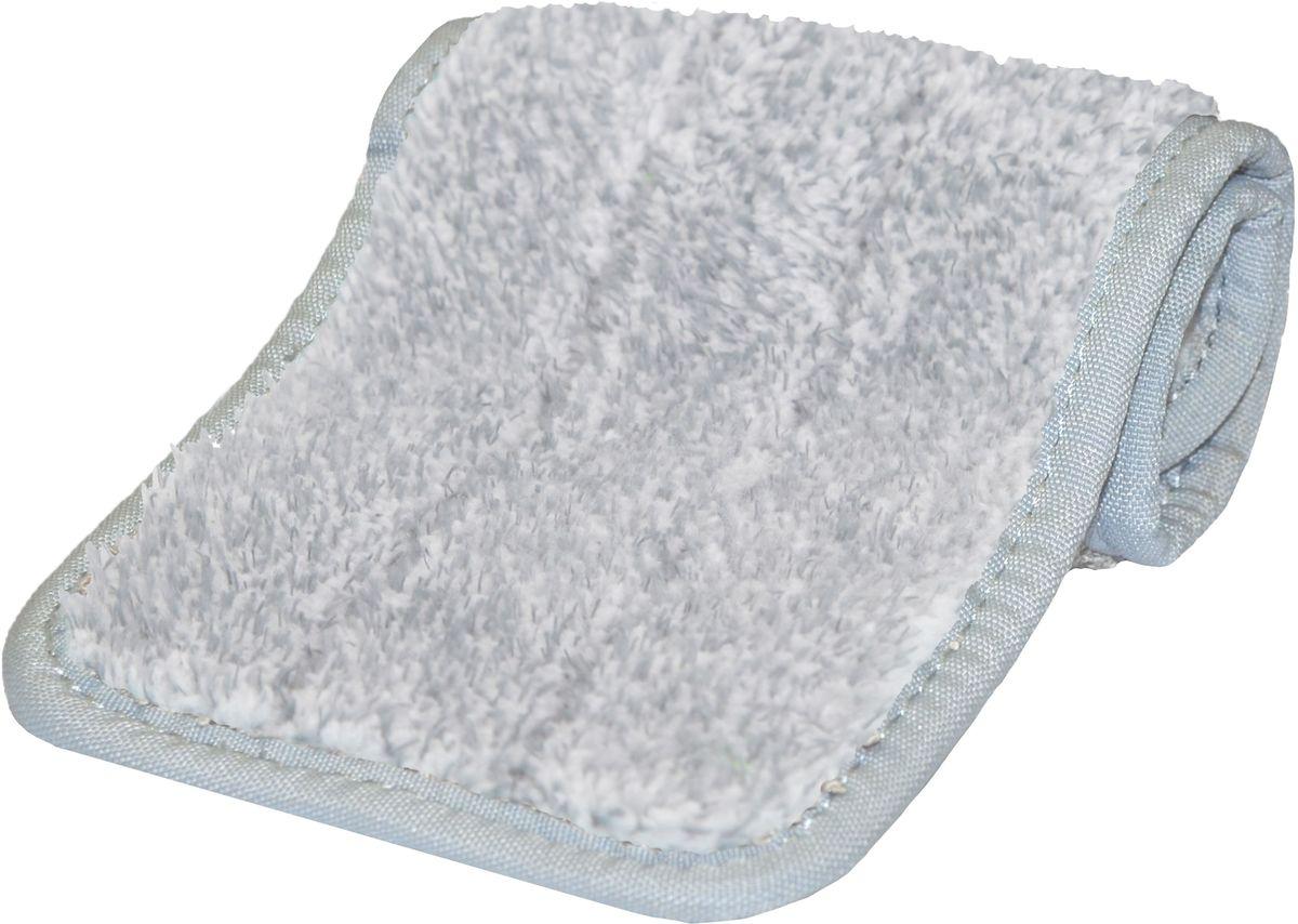 Насадка сменная на швабру Hausmann Care Clean, из микрофибры, цвет: серый, 34,5 х 12,3 см (к швабре HM-38)