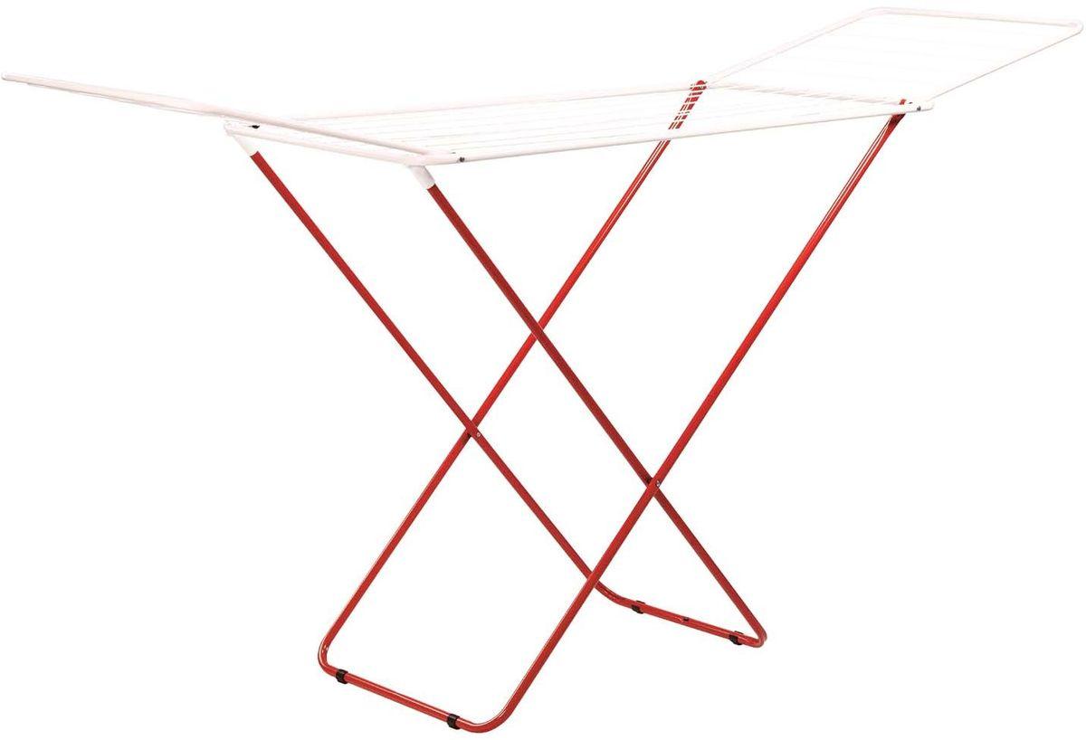 Сушилка для белья Hausmann Helix Plus, напольная, 18 мHM-4711Напольная сушилка для белья Hausmann Helix Plus проста и удобна в использовании, компактно складывается, экономя место в вашей квартире. Сушилку можно использовать на балконе или дома. Общая длина реек сушилки составляет 20 метров. Сушилка оснащена распашными створками для сушки одежды во всю длину, а также имеет специальные пластиковые крепления в основе стоек, которые не царапают пол.