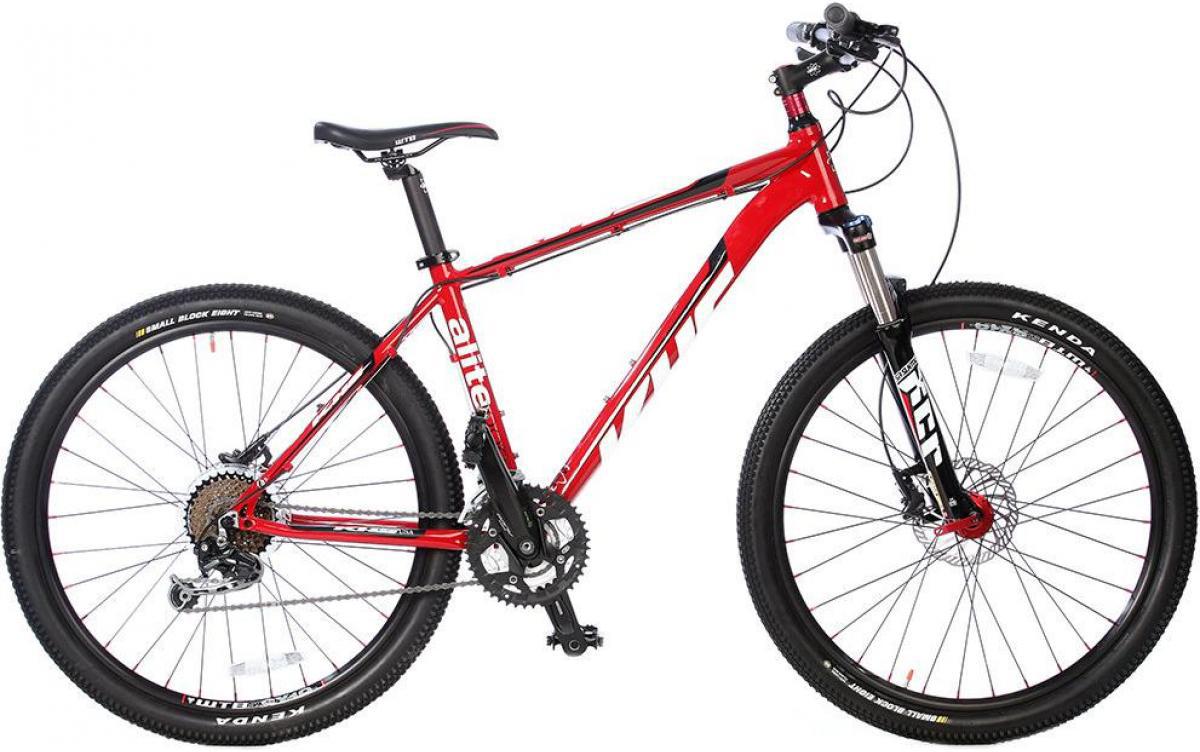 Велосипед горный KHS Alite 1000 2014, цвет: красный, рама 15, колесо 26110448