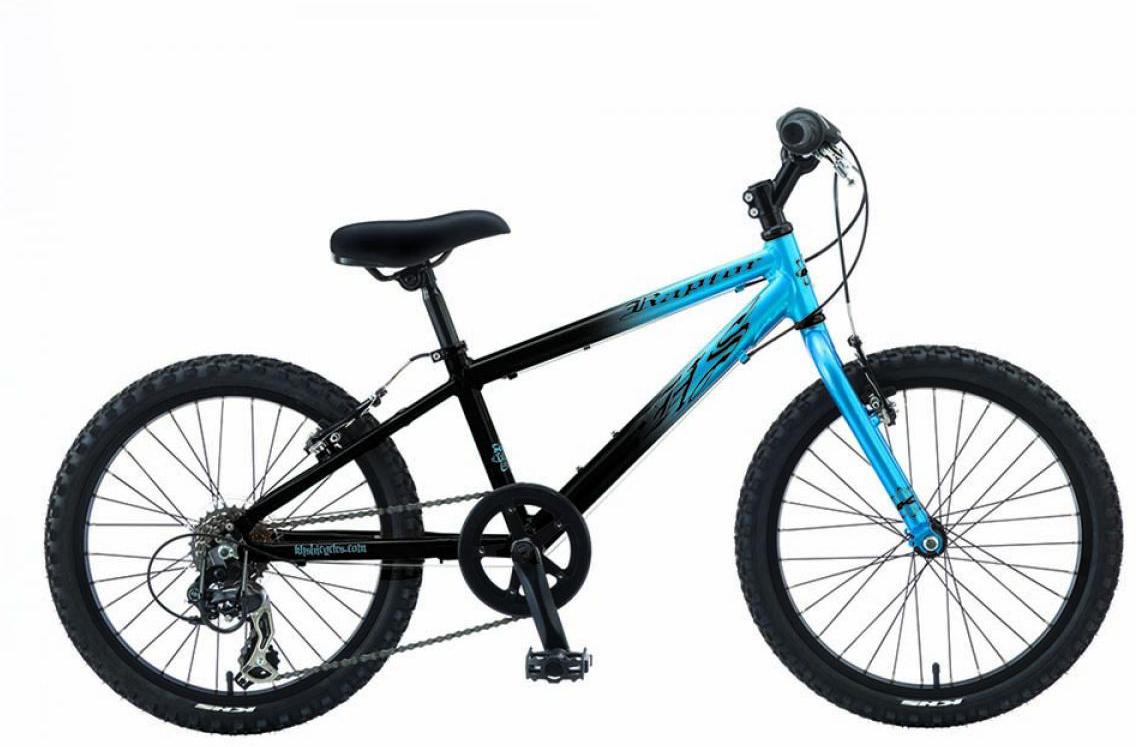 Велосипед детский KHS Raptor 2015, цвет: черный, колесо 20210415