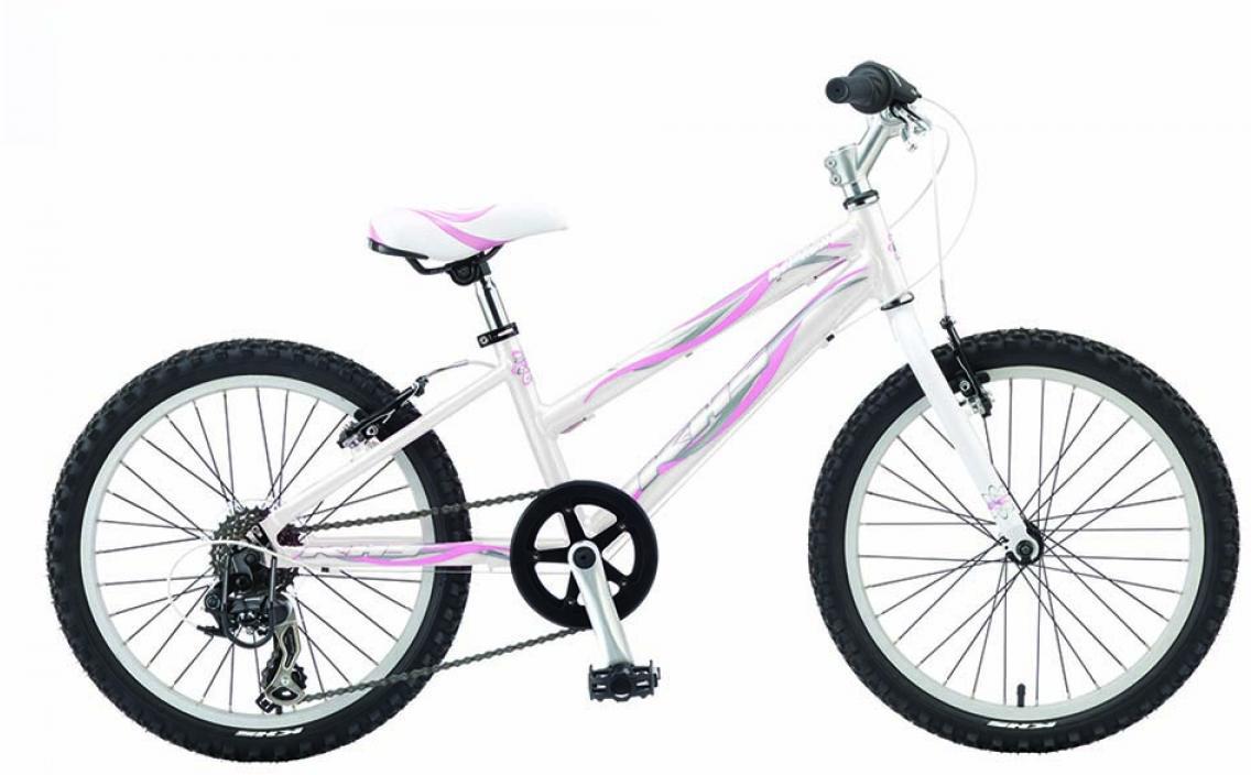 Велосипед детский KHS Raptor Girl 2015, цвет: белый, колесо 20210420