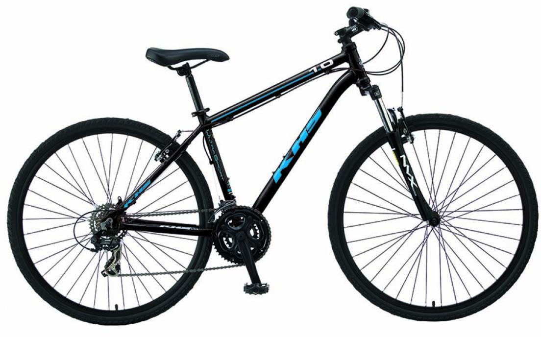 Велосипед городской KHS Ultra Sport 1.0 2015, цвет: черный, рама 14,5, колесо 28210421