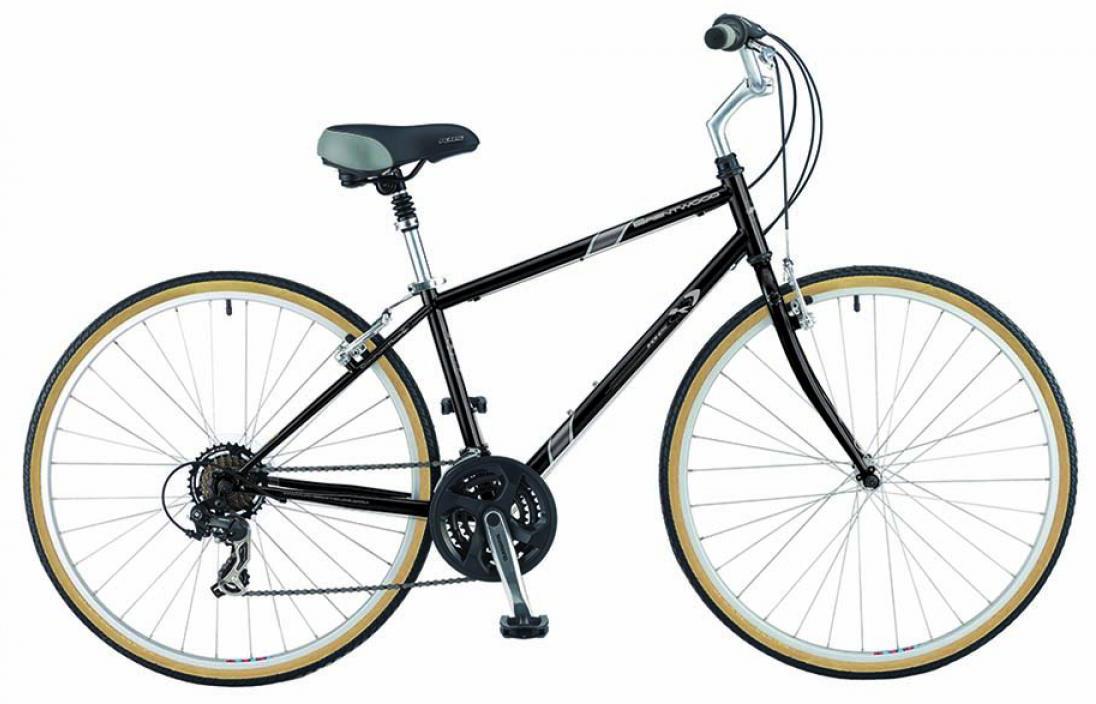 Велосипед городской KHS Brentwood 2015, цвет: черный, рама 17, колесо 28210481