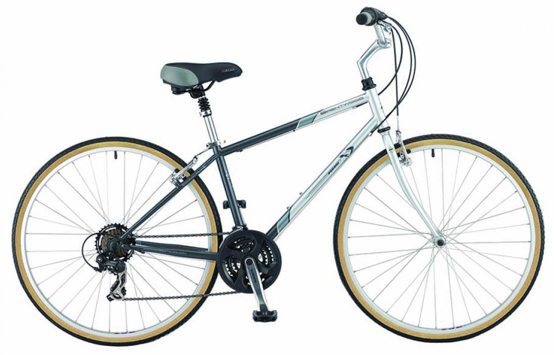 Велосипед городской KHS Brentwood 2015, цвет: голубой, рама 15, колесо 28210486