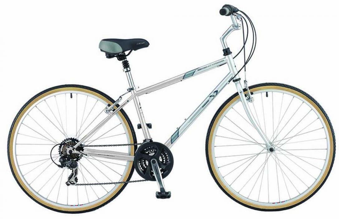 Велосипед городской KHS Brentwood 2015, цвет: серый, рама 17, колесо 28210618