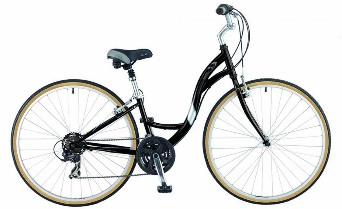 Велосипед городской KHS Brentwood Ladies 2015, цвет: черный, рама 14, колесо 28211978