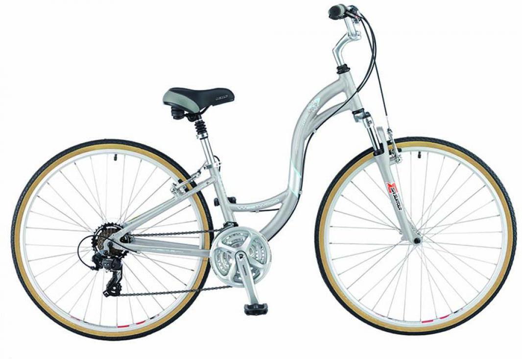 Велосипед городской KHS Westwood Ladies 2015, цвет: серый, рама 14, колесо 28212053