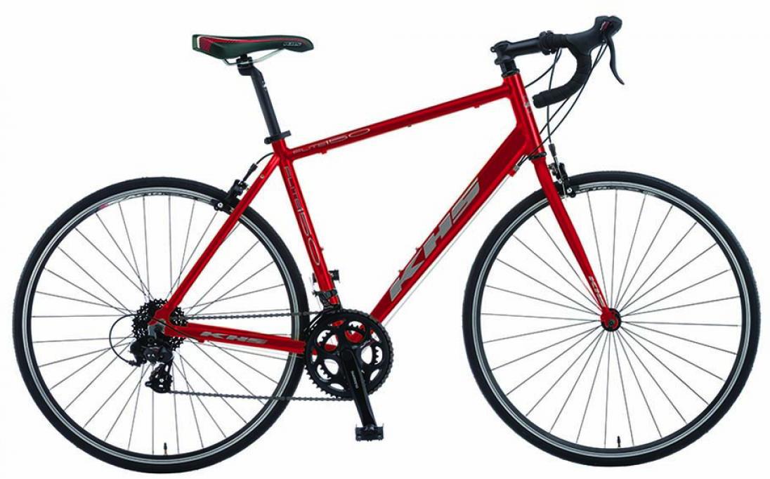 Велосипед шоссейный KHS Flite 150 2015, цвет: красный, рама 23, колесо 28212065