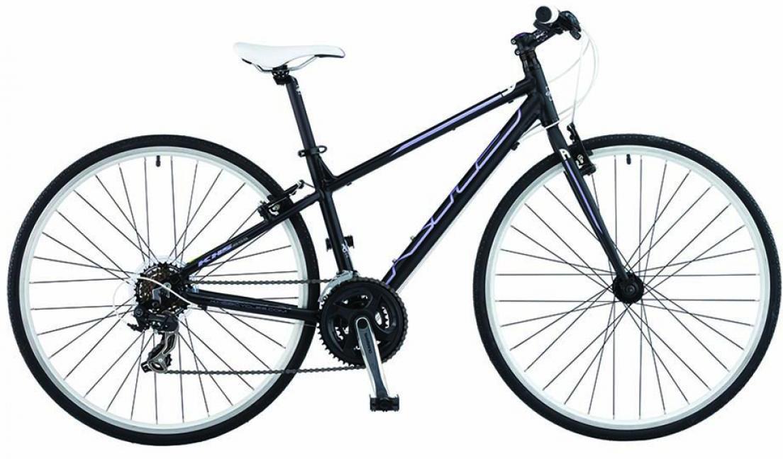 Велосипед городской KHS Vitamin A Ladies 2015, цвет: черный, рама 16, колесо 28212073