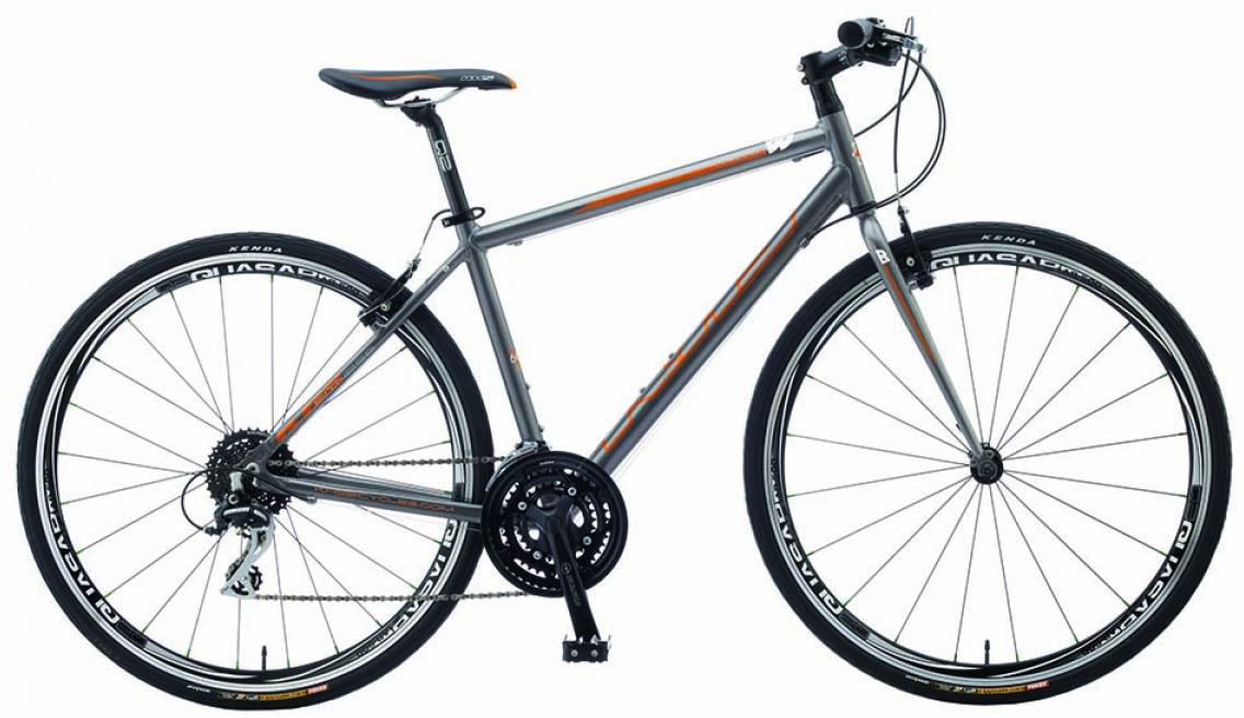 Велосипед городской KHS Vitamin B 2015, цвет: серый, рама 14,5, колесо 28212075