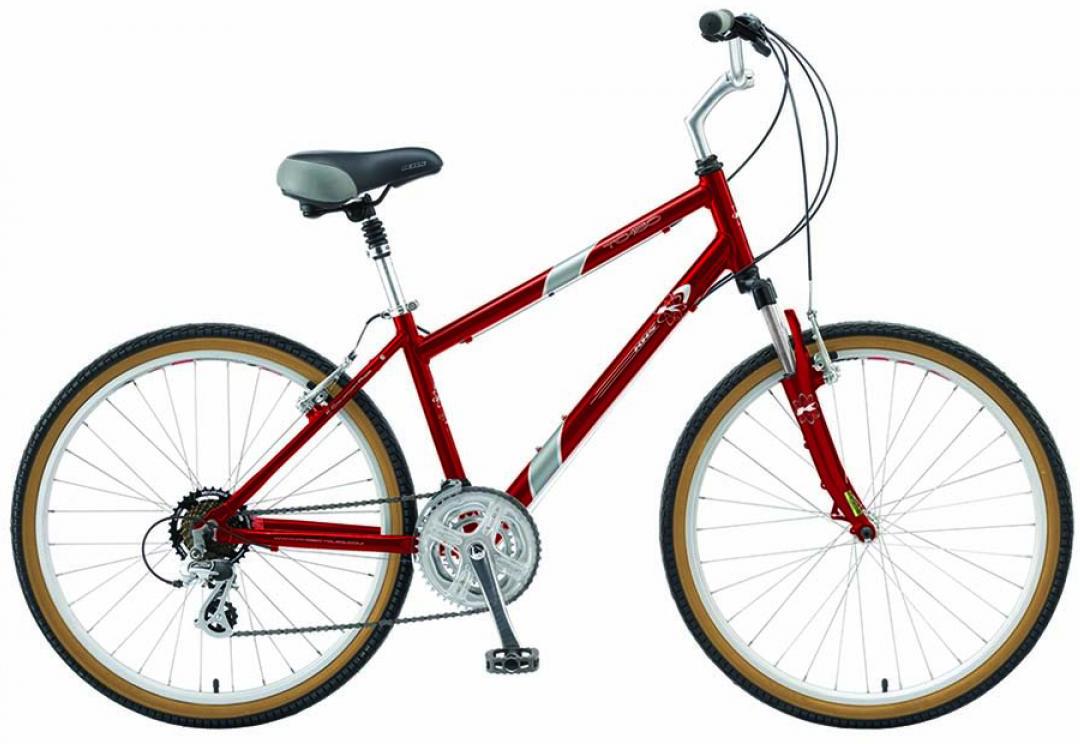 Велосипед городской KHS Town & Country Se 2015, цвет: красный, рама 21, колесо 26212099
