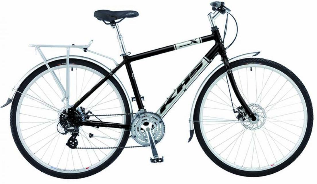 Велосипед городской KHS Urban X 2015, цвет: черный, рама 18, колесо 28212101