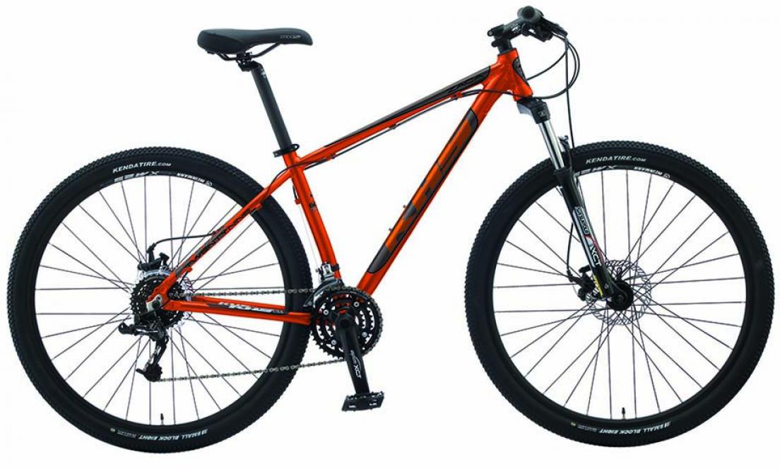 Велосипед горный KHS Zaca 2015, цвет: оранжевый, рама 16, колесо 29212336