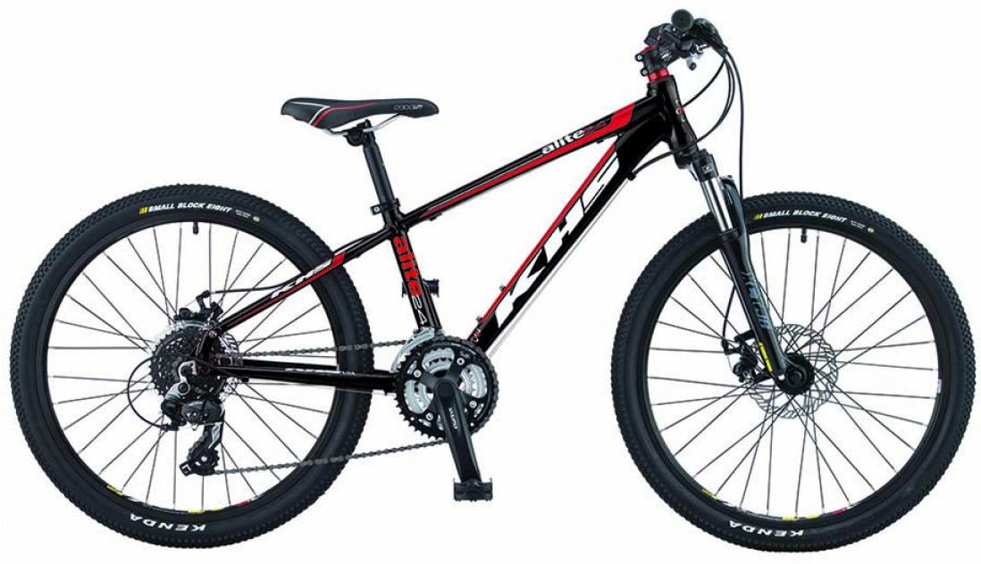 Велосипед детский KHS Alite 2015, цвет: черный, колесо 24212806
