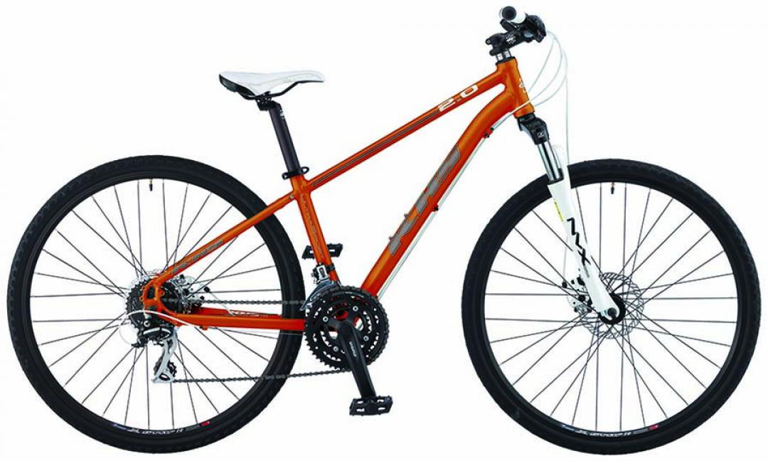 Велосипед городской KHS Ultra Sport 2.0 Ladies 2015, цвет: оранжевый, рама 19, колесо 28212817